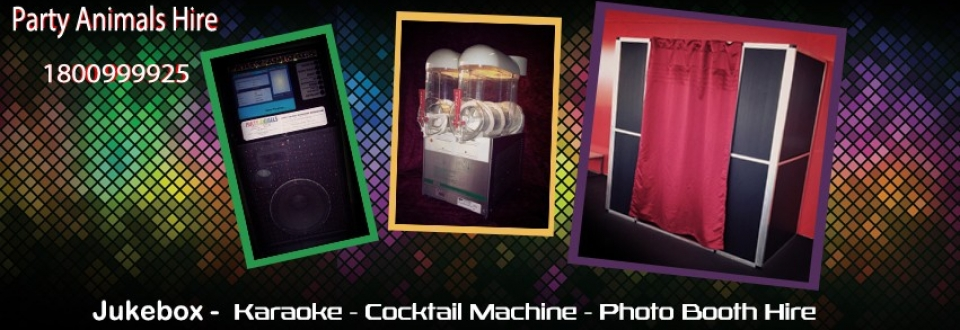 Jukebox, Photo Booth, Frozen Cocktail Hire